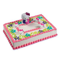Hello Kitty Bubble Blower Cake Kit