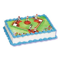 Baseball Cake Kit - 5 Figures