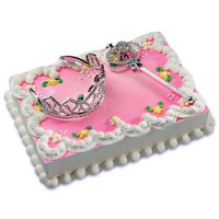 Princess Cake Kit with Tiara And Wand