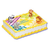 Zoo Animals Cake Kit