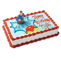 Superman & Shield Cake Kit