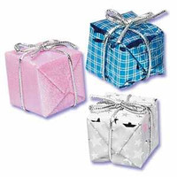 Foil Wrapped Presents Assorted Styles