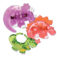 Dinosaur Cupcake Rings Assorted Styles