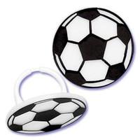 Soccer Cupcake Rings