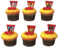 High School Musical Cupcake Rings