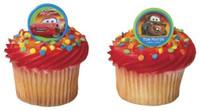 Cars Cupcake Rings