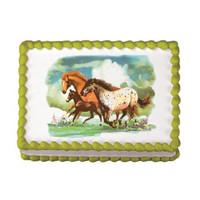 Wild Horses Edible Image®