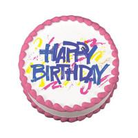 Happy Birthday Bold Edible Image®