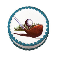 Golf Ball & Club Edible Image®