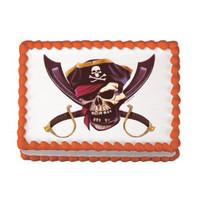 Pirate Skull Edible Image®