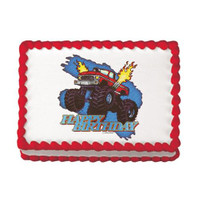 Monster Truck Birthday Edible Image®