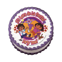 Dora The Explorer & Diego Edible Image®