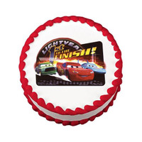 Cars 1st To The Finish Line Edible Image®