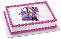 Minnie Color Pink Edible Image®