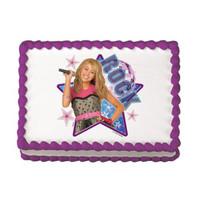 Hannah Montana Rock! Edible Image®