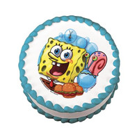 SpongeBob Squarepants Bib Bubbles Edible Image®