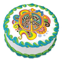 Groovy Birthday Edible Image®
