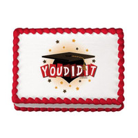 You Did It Grad Edible Image®