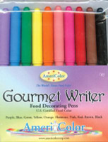 Food Writer Gourmet Pens - Assorted Colors