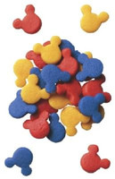 Mickey Mouse Primary Candy Confetti Shapes