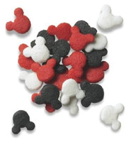 Mickey Mouse Red, Black & White Candy Confetti Shapes