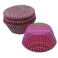 Snappy Stripes Cupcake Liners