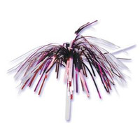 Valentine Colors Tinsel Cupcake Picks
