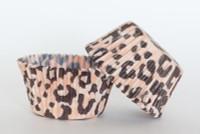 Standard Size Leopard Baking Cups