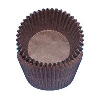 MINI Size Brown Baking Cups