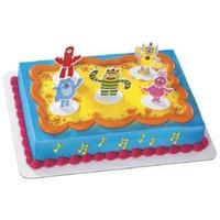 Yo Gabba Gabba Cake Toppers