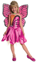 Barbie+AC0-Deluxe Mariposa Toddler/Child Costume