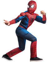 The Amazing Spider+AC0-Man 2 Deluxe Child Costume