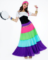Renaissance Gypsy Adult Costume