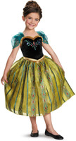 Disney Frozen +AC0- Anna Coronation Deluxe Girls Costume