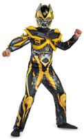 Transformers Age of Extinction +AC0-  Deluxe Bumblebee Kids Costume