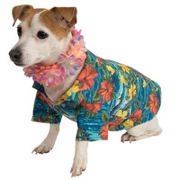 Luau Jacket +ACY- Lei Pet Costume