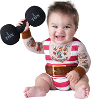 Silly Strongman Toddler Costume