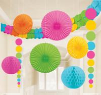 Pastel Paper Decorating Kit