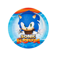Sonic Boom Dessert Plates