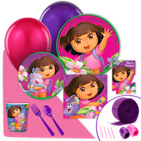 Dora's Flower Adventure Value Party Pack