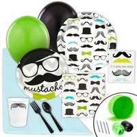 Mustache Man Value Party Pack