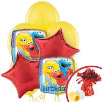 Sesame Street Party Balloon Bouquet