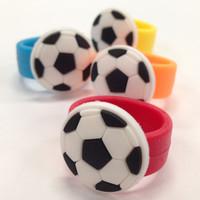 Rubber Soccer Rings (12) 2