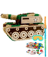 Camo Army Soldier Pinata Kit