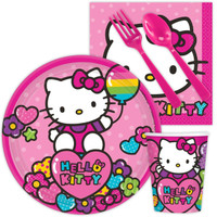 Hello Kitty Rainbow Snack Party Pack