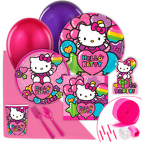 Hello Kitty Rainbow Value Party Pack