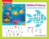 Highlights Activity Placemat Kit for 4