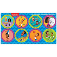 Highlights Small Lollipop Sticker Sheets