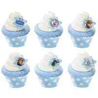 Disney Frozen Cupcake Wrapper & Pick Kit