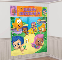 Bubble Guppies Wall Decorating Kit